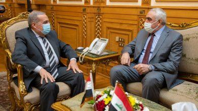 صورة وزير الإنتاج الحربي يبحث مع السفير العراقي تعزيز التعاون المشترك